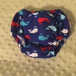 Reusable swim diaper.  Used once.